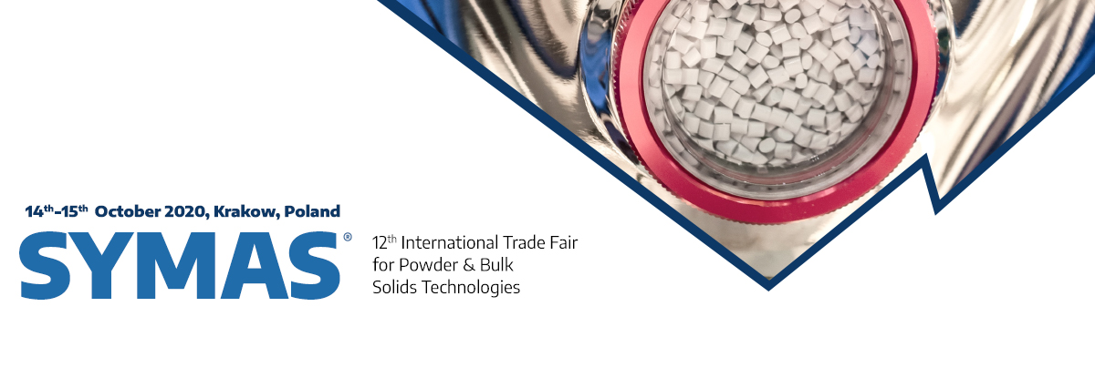 12. International Trade Fair for Powder & Bulk Solids Technologies – SYMAS®